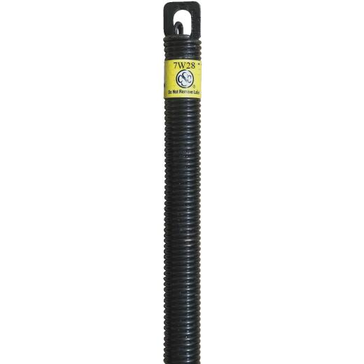 Century Spring 28 In. #7 Wire Plug-End Garage Door Extension Spring