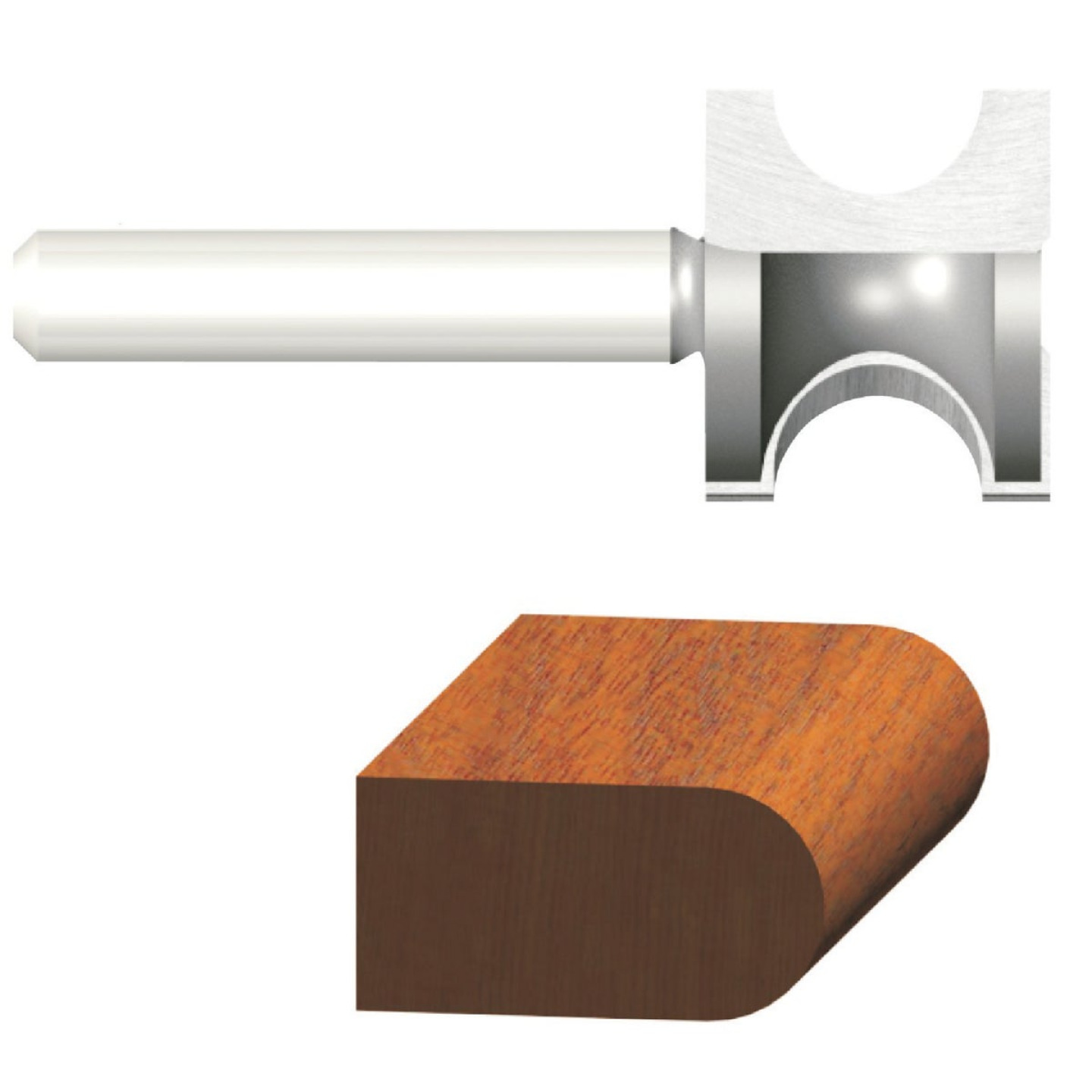 Vermont American Carbide 7/8 In. 3/4 In. Bull Nose Bit Image 1