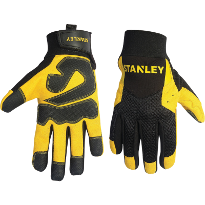 Stanley Men's Large Synthetic Leather High Performance Glove